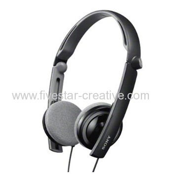 Sony MDR-S40 Outdoor Series Headband Type Cross-Folding Headphones Black