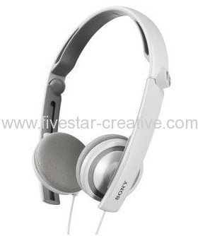 Sony MDR-S40 Cross Foldable Headphones White from China Supplier