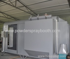 basic spray booth system