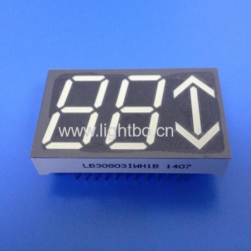 Custom ultra white Arrow LED Display for Lift Position Indicators
