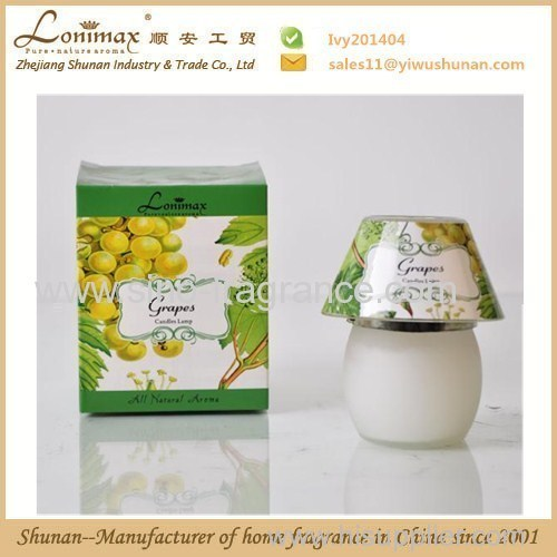 scented soy candle lamp