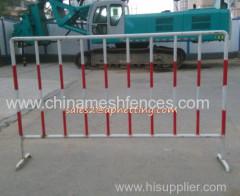 construction site warning use barricade