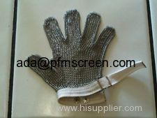 wire mesh chain mail glove
