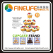 New Cupcake Stand Tree Holder Muffin Serving Birthday Cake 13 Cup Party 3 Tier