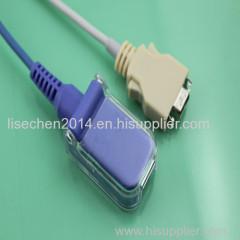 compatible Nellcor spo2 extension cable DB9M>DBM9F AMD I0002A