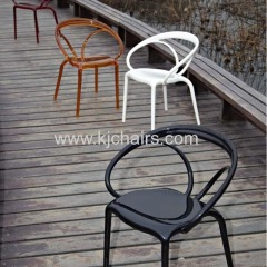 2014 new style for hotel plastic dining chair / leisure chair