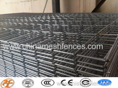 galvanized welded mesh panel powder coated reinforced grid mesh panel
