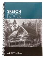 A4 110g Special Paper Spiral Sketch Book