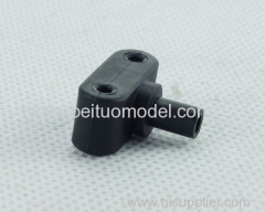 Throttle steering gear rocker arm component for rc truck