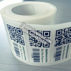 Serial Barcode and QR Labels