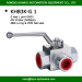 BK3-G1high pressure hydraulic 3 way BSP DN25 female ball valve manufacturer oil field
