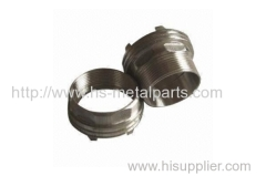High density and hardness Stainless steel investment casting Parts