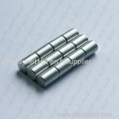 D8 x 10mm Cylinder Magnet Neodymium N48