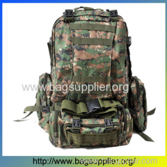 waterproof camouflage camping military backpack