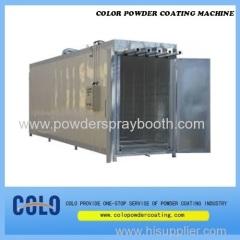 build powder coat oven
