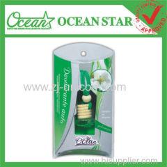 8ml Glass bottle hanging car perfume funny car air fresheners
