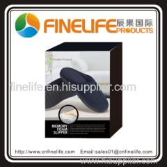 Hot sell memory foam slipper