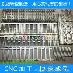 best Customized aluminum spare parts aluminum CNC processing with low price