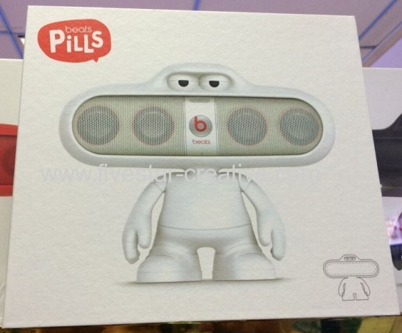 Beats By Dr Dre Pill Dude Speaker Stand In White From