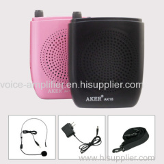 AKER Voice amplifier player phone music player usb player for teachers tour guiders promotion sales entertainm