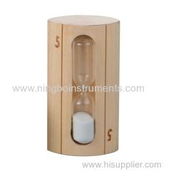 wooden sauna timer; sauna timer