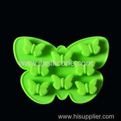 FDA LFGB SGS Butterfly Shape Quality Silicone Ice Tray Maker