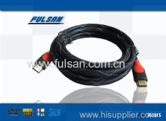 ul 20276 hdmi cable with nylon mesh