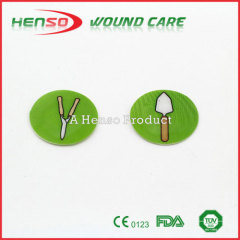 HENSO Waterproof Sterile Non Latex Plastic Kids Band Aid
