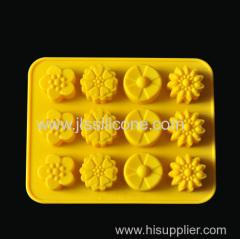 Creative silicone ice tube tray wholesaler with fashion flower