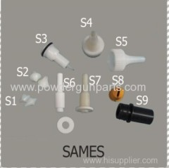 SAMES powder system parts