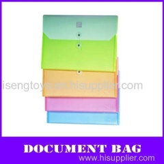 color a4 pp file box with string fastener (Horizontal style)
