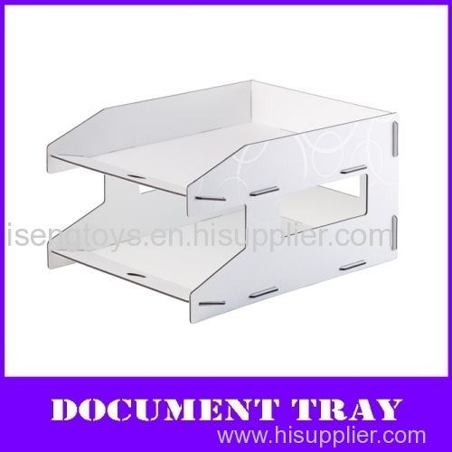 2-layers desktop pp A4 documents tray