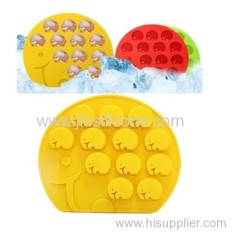 Bar Elephant Silicone ice tube pan mold from China