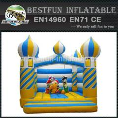 Inflatable Aladdin Castle Funland