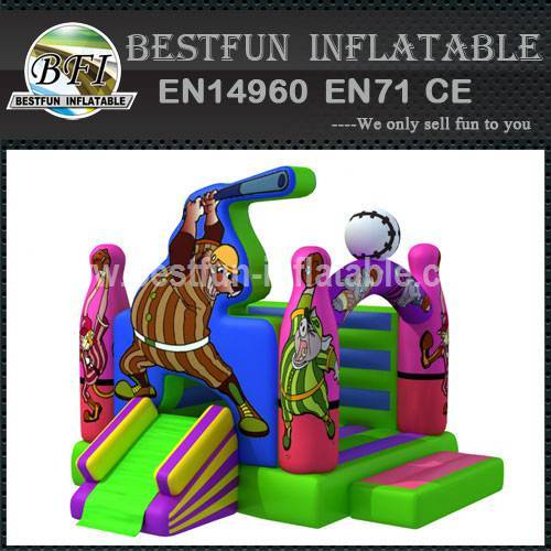 Cheap inflatable baseball bouncer