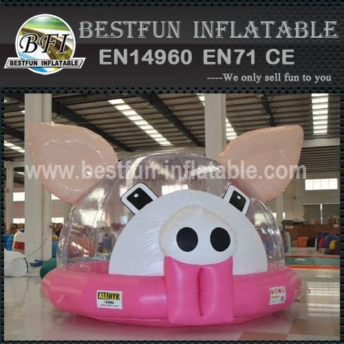 INFLATABLE CASTLE PINK PIGGY