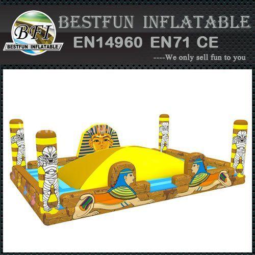 New design pharaoh pyramid inflatable bouncer