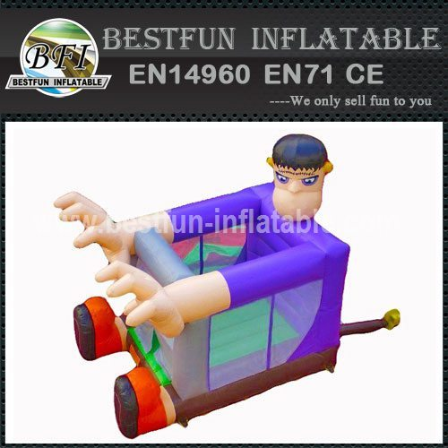 Mad Scientist inflatable bouncer
