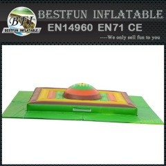 Inflatable jumping mountain for kids