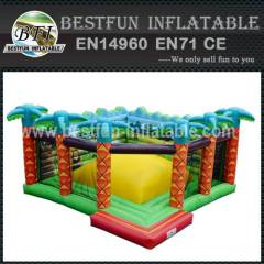 COLORFUL JUNGLE JUMPING BOUNCER