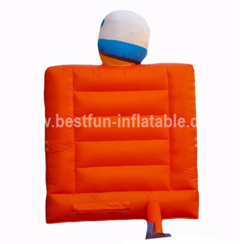 Funny design inflatable driver bouncer for sale