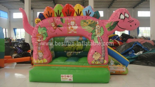 Inflatable Dino Bouncer Combo