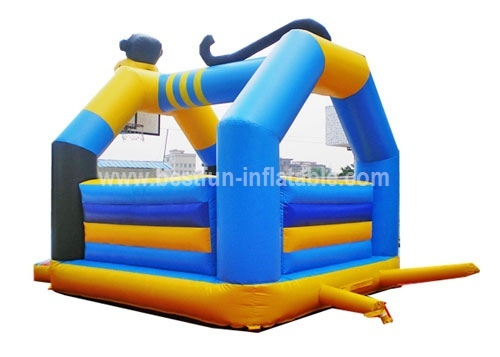 Inflatable monkey bounce castle