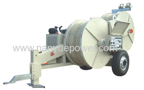 Hydraulic Cable Pulling Machine : Kn hydraulic cable tensioner pulling