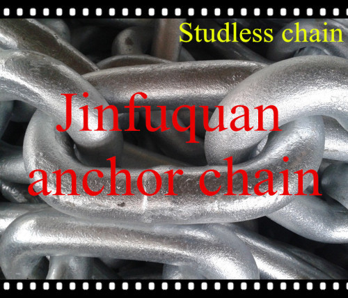 STUDLESS STEEL ANCHOR CHAIN