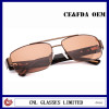 Polarized Sunglasses for Men Brown Metal Tortoise Acetate Sunglasses