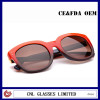 Wayfarer Sunglasses for Women Red and Black Handmade Sunglasses