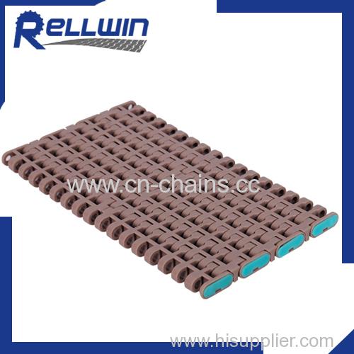 Modular Plastic Belt Conveyor Flush Grid500 valcanizing machine