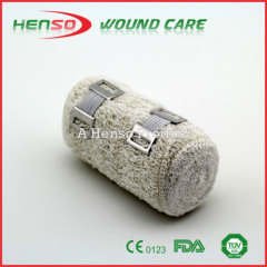 HENSO Hot Sale Elastic Bleached Crepe Bandage Size