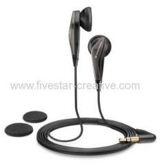 Sennheiser MX Series MX375 Ergonomic Stereo Earphone Headsets Black with Bass